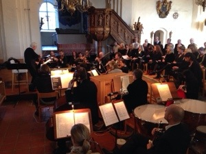 First Performance S:ta Birgitta Church